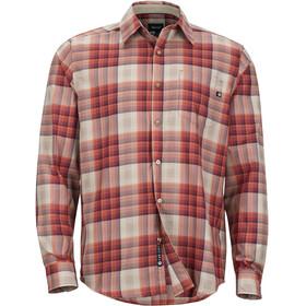 Marmot Zephyr - T-shirt manches longues Homme - rouge